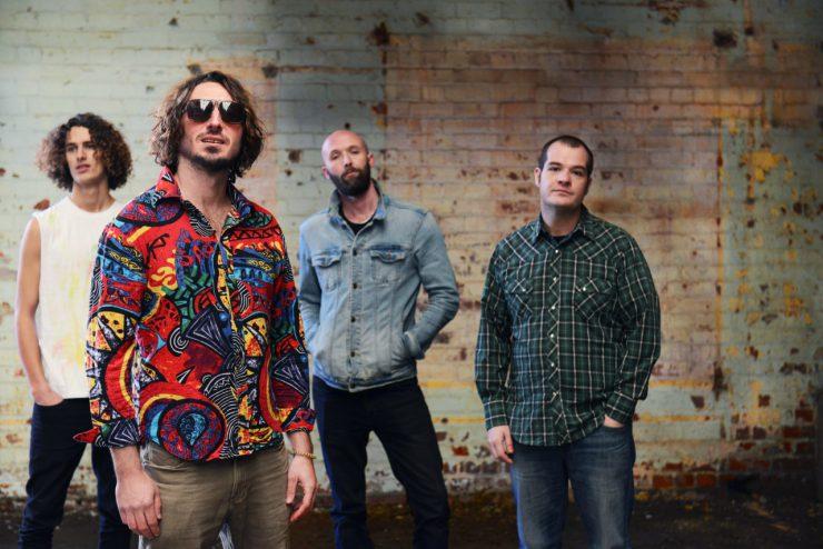 Wille & The Bandits op herhaling bij Heyhoef-Backstage - groepsfoto