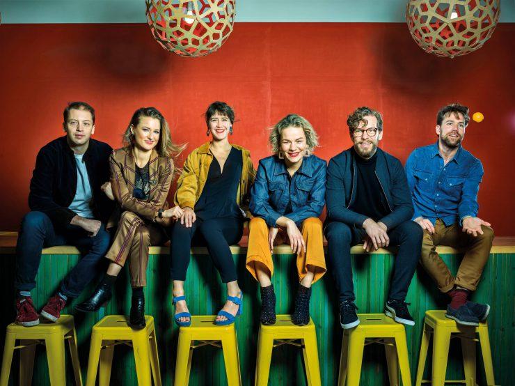 Fuse is te bewonderen in Concertzaal Tilburg - groepsfoto
