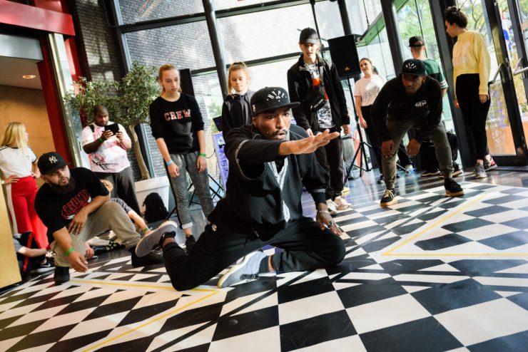 Hiphop en urban scene ontmoeten elkaar bij Factorium - scènefoto