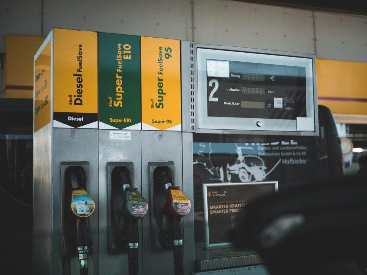 Tanken in België aan banden gelegd - foto van een tankstation