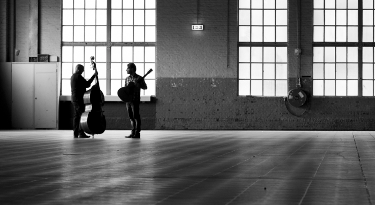 Paradox 1½ Meter Sessies: Eric van der Westen - foto Eric en Aron Raams