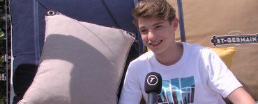 DJ in hart en nieren Pieter Gabriel is nog jong, maar al gevraagd als voorprogramma van het Eurovisie Songfestival