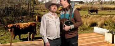 De laatste editie van Backstage Backyard Blues op de veranda in de Dongevallei is weggelegd voor twee multi-instrumentalisten, want de stream van 5 juli zal verzorgd worden door het duo Verbraak | Van Bijnen.