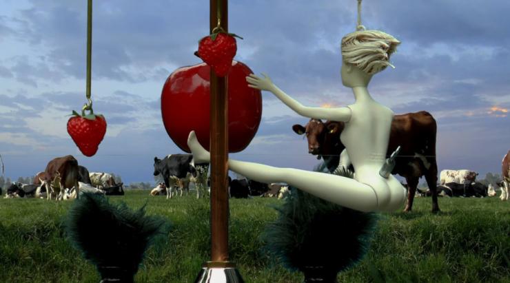 De tentoonstelling 'Tuin der Tederheid' is een 'onbevangen feest van aanraking, tederheid en kwetsbaarheid', in het 'Metropolitan Museum | Tilburg'.