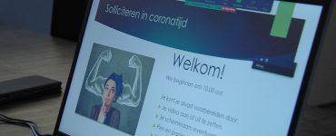 Na afloop was sollicitatiecoach Debbie Heijne blij hoe de online Walk&Talk was verlopen.