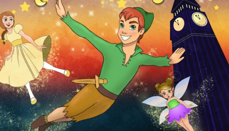 Prachtige avonturen wachten op Wendy, als Peter Pan haar slaapkamer binnenvliegt en haar meeneemt naar de magische wereld van Nimmerland.