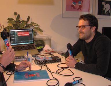 De naam van de podcast van studenten Pim Kurvers en Jesse Hamers is 'Losse Tongen' wat voor ze inhoudt dat overal over gesproken kan worden.