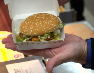 Waar het nu begint met een aantal vegetarische alternatieven, kijken grote hamburgerketens in de fastfood al een stapje verder. Er wordt ook geëxperimenteerd met plant-based burgers, een veganistische burger dus.