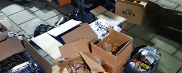 Tijdens een controle van de gemeente in samenwerking met de politie is 1 december in een garagebox een partij vuurwerk van om en nabij 200 kilo gevonden.