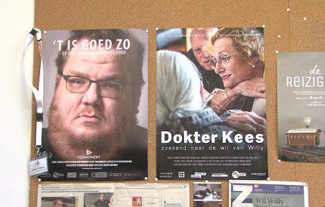 Jesse van Venrooij, documentairemaker, heeft een tweede documentaire gemaakt over euthanasie: Dokter Kees – zoekend naar de wil van Willy. Na zijn eerdere documentaire ''t Is goed zo' volgt Jesse dokter Kees, Willy en zijn familie in de zoektocht naar de beste weg voor Willy.