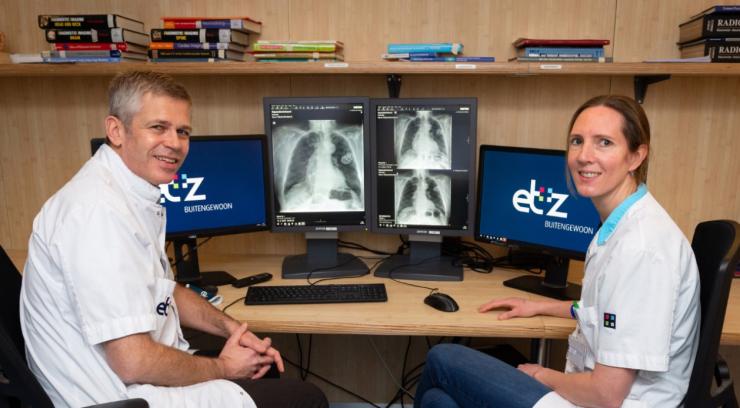Het ETZ (Elisabeth-TweeSteden Ziekenhuis) start als eerste ziekenhuis in het land een proef met slimme software die longfoto's beoordeelt.