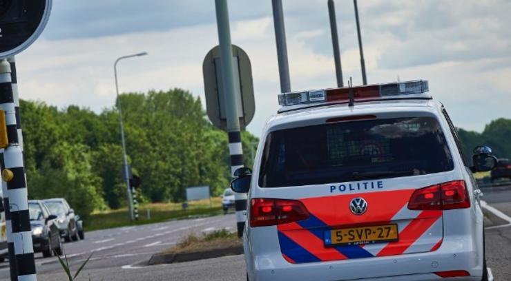 Politiemensen zijn een onderzoek gestart naar een verkeersconflict dat eindigde op de Spoorlaan.