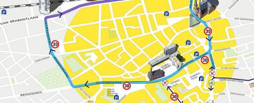 Plannen cityring Tilburg